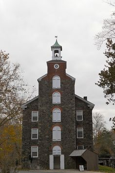 Brandywine Valley National Scenic Byway, Delaware - Mill, Hagley Museum & Library near Wilmington, Delaware.