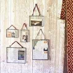 Kiko Glass Frame. Gosh I love the idea of these! Would be really lovely for things like letters or creating a mini collage or something.