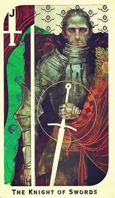Cullen's tarot card - Dragon Age Inquisition < I wish I had these tarot cards. They are beautiful.