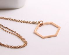 Copper Necklace, Pendant Necklace, Tragus Stud, Jewelry Cleaning Solution, Copper Sheets, Paper Gift Bags, Geometric Jewelry, Minimalist Necklace, Triangle