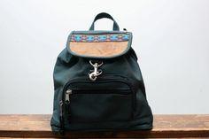 dd01884a50 Vintage 90s Grunge Revival Green Mini Backpack