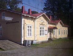Tervajoen rautatieasema Isokyrö.