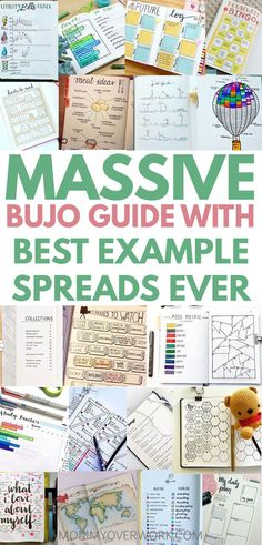 A BULLET JOURNAL is an organization system that can change your life. This ultimate guide walks you through many bujo ideas from basics like monthly logs to unique spreads like house cleaning, budgeting, and fitness. Tons of example layout pages for inspi Bullet Journal Weekly Spread, Bullet Journal Spreads, Digital Bullet Journal, Bullet Journal How To Start A, Bullet Journal Junkies, Bullet Journal Inspo, Bullet Journals, Bullet Journal Packing List, Bullet Journal Examples