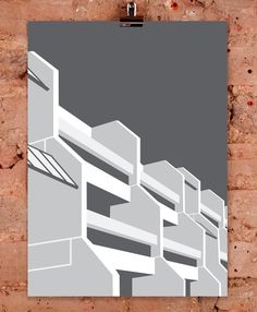 Highgate New Town by Stefi Orazi Columbia Road, The Duff, Art Pieces, Walls, London, Gallery, Artist, Artwork, Work Of Art