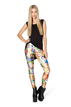 Snow White Leggings › Black Milk Clothing