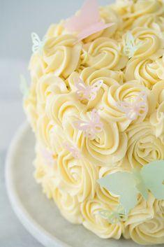 Sweet Recipes, Cake Recipes, Dessert Recipes, Food Cakes, Candy Cakes, Cupcake Cakes, Rosette Cake, Milk Cake, Cake Boss