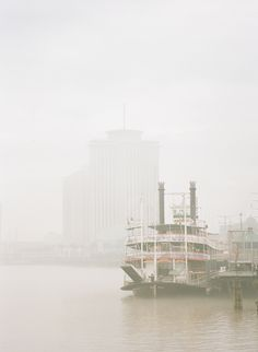 Fog on the River in New Orleans | photography by http://www.hunterphotographic.com