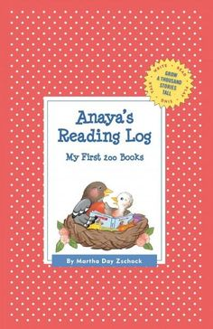 Anaya's Reading Log: My First 200 Books (Record book)