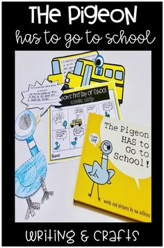 Are you looking for a fun interactive back to school activity? Your students will LOVE this writing resource that goes perfectly with The Pigeon Has To Go To School! Click through to see more!