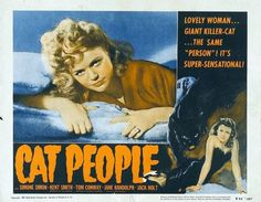 """Cat people.  Woman and cat. same person.  its  """"Super-Sensational! """""""