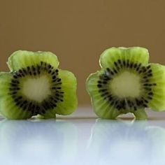 kiwi fruit shamrocks