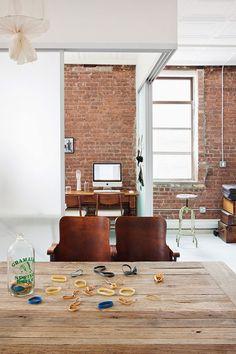 Méchant Studio Blog: a white loft in Manhattan
