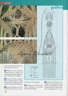 Macramé decorativo - Aymara Lorena Blackhall - Álbumes web de Picasa