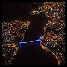 İstanbul bosphorus #Istanbul ,#Turkey ✨✨ Fantastic pic! #crazyISTANBUL or visit CrazyISTANBUL.com by TheCrazyCities.com