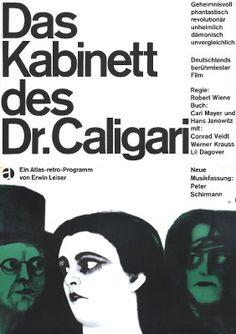 The Cabinet of Dr. Caligari (Das Kabinett des Dr. Caligari) (1920, Germany)