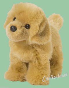 "Douglas Chap GOLDEN RETRIEVER 10"" Plush Stuffed Puppy Dog Cuddle Toy NEW #DouglasCuddleToy"