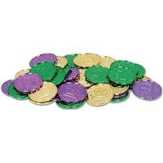 Mardi Gras Plastic Coins 100 Per Bag The Beistle Company http://www.amazon.com/dp/B006C6HT46/ref=cm_sw_r_pi_dp_csR0tb0N8WGGWBET