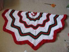 Christmas Tree Skirt Tree Skirts, Christmas Tree, Blanket, Crochet, Holiday, Xmas, Teal Christmas Tree, Blankets, Vacations