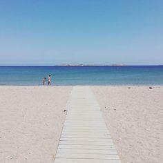 #chiona #beach @ #palekastro #crete Crete, Sidewalk, Beach, Instagram, The Beach, Side Walkway, Walkway, Beaches, Walkways