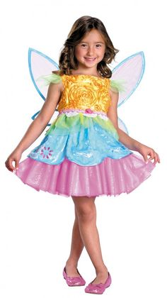 Disguise Fruity Tutti Fairy Costume Girls Costume | Clothing