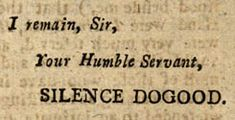 Massachusetts Historical Society | Silence Dogood: Benjamin Franklin in The New-England Courant