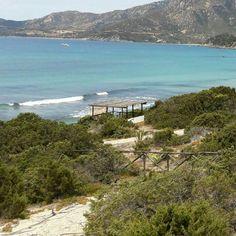 Blick vom #Ferienhaus Casa Stella #Villasimius #Sardinien