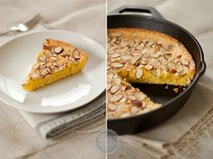 Swedish Visiting Cake - I'll have to leave the almonds off, but still sounds delish!