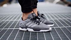 9c87d190fad3 Kicks Deals – Official Website adidas ZX Flux  Reflective Snakeskin  Silver  - Kicks Deals