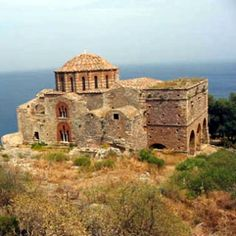 Monemvasia, the fortress city by the sea, is replete with history and redolent of staggering views. Argos, Monemvasia Greece, Rock Of Gibraltar, City By The Sea, Mycenae, Trojan War, Holiday Places, Walled City, Acropolis