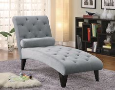 Coaster 550067 Chaise Grey New | $259.00