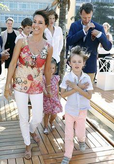 Royals & Fashion: Inauguration du pavillon danois, Rio
