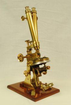 STEWARD MICROSCOPE (1870 England).