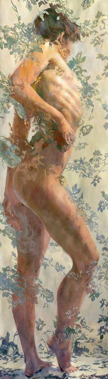 "Saatchi Online Artist: Sergio Lopez; Gouache, Painting ""Cressida"""
