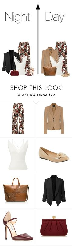 """""""Untitled #8452"""" by ksims-1 ❤ liked on Polyvore featuring River Island, Tom Ford, Roland Mouret, Tory Burch, LE3NO, Jimmy Choo, Wilbur & Gussie, contestentry and daytoevening"""