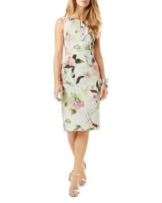 1ee4c7f1a6 Phase Eight Lizzy Floral Print Textured Dress