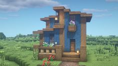 Cute Minecraft Houses, Minecraft Images, Minecraft Plans, Amazing Minecraft, Minecraft House Designs, Minecraft Tutorial, Minecraft Blueprints, Minecraft Creations, Minecraft Projects