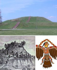 Cahokia, Illinois, United States      Few Americans realize that we have the remains of a lost ancient civilization right here in the United States – in Illinois, just across the Mississippi River from St. Louis, Missouri. The Cahokia Mounds Historic Site is all that is left of an indigenous civilization of the Mississippian culture, settled around 600 CE.