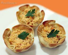 PANELATERAPIA - Blog de Culinária, Gastronomia e Receitas: Cestinha de Bacalhau