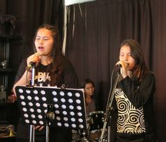 Rock music performance high school 2016 at the Moose in Bangkok