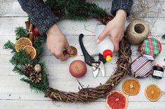 DIY: Ароматный новогодний венок | Сияние блог