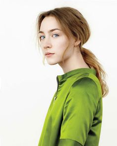 saoirse ronan - so talented! After graduating college, I was very disheartened by the state of the economy, etc. and had kind of lost hope. People such as Saoirse make me once again hopeful in my generation