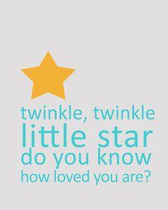 twinkle, twinkle little star :: memorable words monday freebie