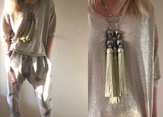 Barnett - The Jewellery Label: Loving these Milk From A Thistle SS11 silk pants. Thanks Danielle!