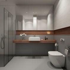 contemporary bathroom design, modern bathroom decorating i… Contemporary Bathroom Lighting, Contemporary Bathroom Designs, Modern Bathroom Decor, Bathroom Interior Design, Bathroom Furniture, Small Bathroom, Master Bathroom, Shower Bathroom, Bathroom Ideas