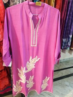 Indian Ethnic Beautiful Traditional Designer stylish embroidered georgette kurti