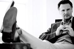 """Liam Neeson """"You have to know, one wet leaf can ruin you."""" Interview Liam Neeson - Esquire"""