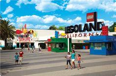 cali San Diego Legoland coasters, legos, dark rides