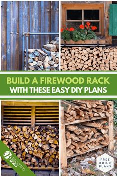 Want to build a new firewood rack today? We found 7 firewood rack plans that anyone with hand tools and little to no experience can build. Check out the great DIY ideas we came up with!
