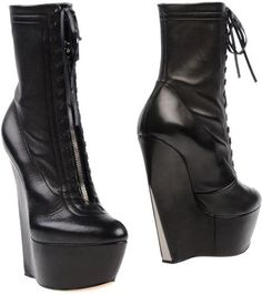 Casadei ankle boots black leather $957