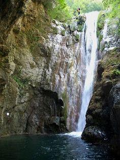 orlia canyon,οlympus mountain, greece